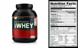 goldstandard whey protein powder